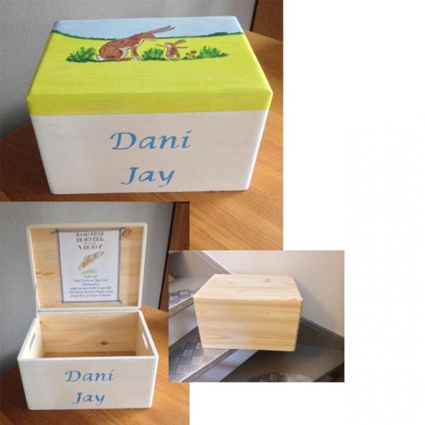 houten doos voor herinneringen